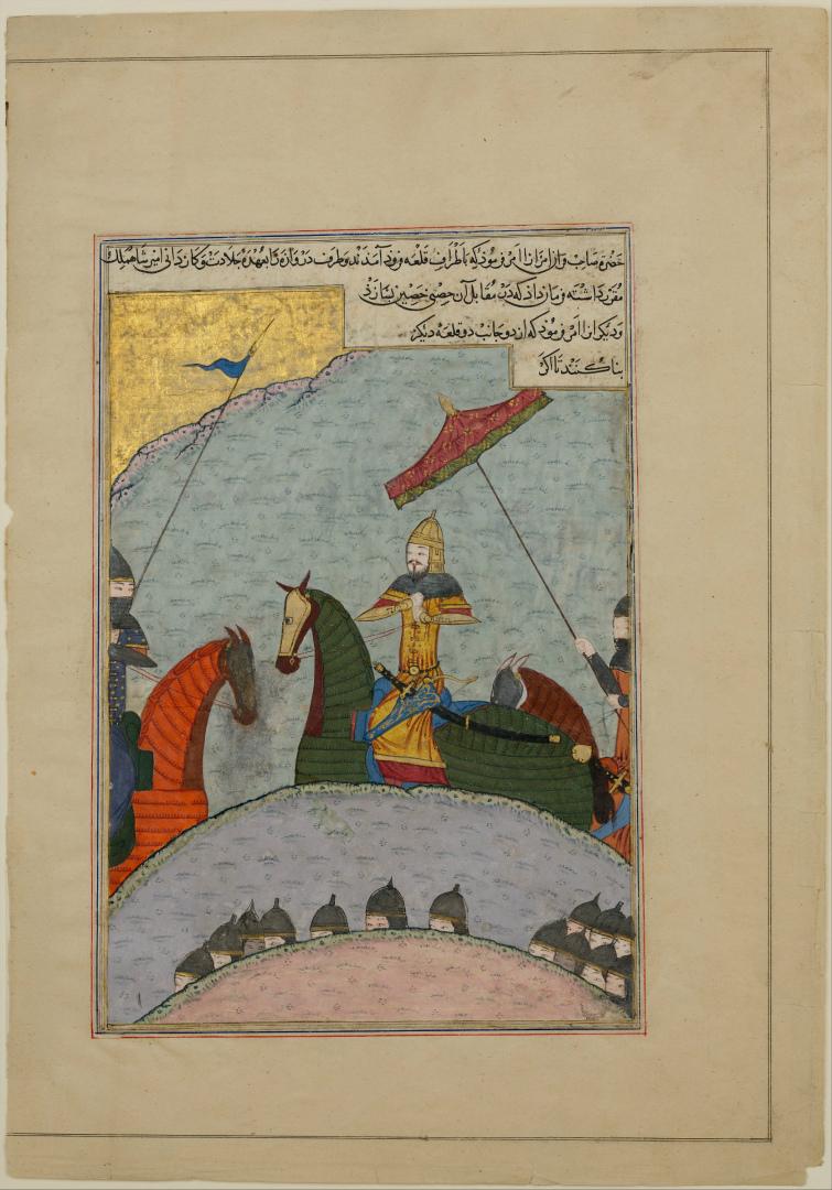 Тимур перед битвой. 1436