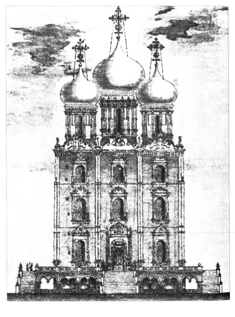Успенский собор в Рязани, западный фасад