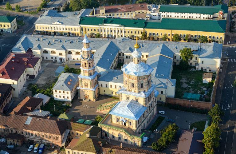 Вид на собор Петра и Павла, Казань